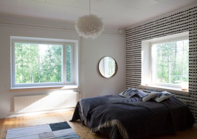 Villa Apukka has spacious bedrooms with comfortable beds 2