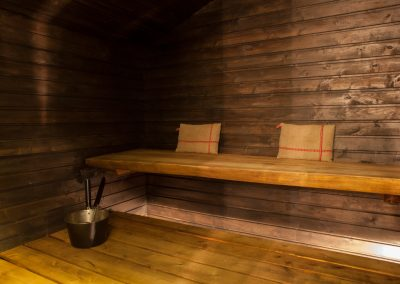 Villa Apukka has true finnish sauna